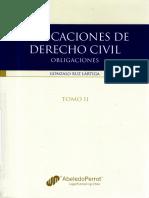 Explicaciones de Derecho Civil Obligaciones GRuz Lartiga