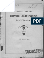 USNBD - US Bombs and Fuzes, Pyrotechnics