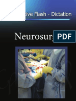 Operative Flash Dictation Neurosurgery Front Cover