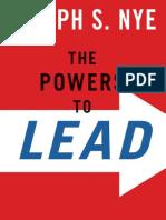 Joseph Nye Jr. - The Powers to Lead-Oxford University Press (2008).pdf