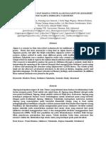 Jurnal Analisis Struktur dan Unsur Alam Puisi Modern