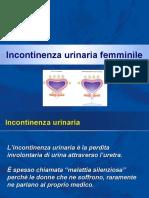 Incontinenza urinaria