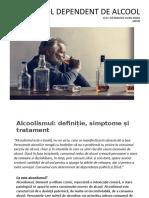 PACIENTUL DEPENDENT DE ALCOOL