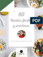 60 Recetas fáciles y prácticas. By Mirciny Moliviatis.pdf