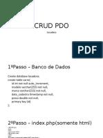 CRUD PDO Locadora