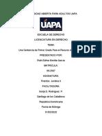 PRACTICA JURIDICA II TRABAJO FINAL