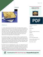 Four step fish pie