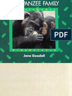 Chimpanzee Family Book by Dr. Jane Goodall