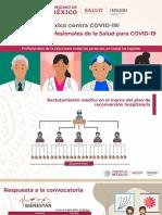 Estrategia de Profesionales de La Salud COVID-19, 06abr20