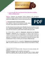 TEMA 1. ANTECEDENTES DE LA LEY GENERAL DE DERECHOS DE NIÑAS, NIÑOS Y ADOLESCENTES