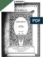 Diabelli Sonatine Op 151