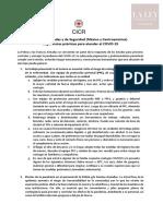 Fuerzas Armadas y de Seguridad (México y Centroamérica).  Sugerencias prácticas para atender el COVID-19