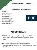 KINETIC ENGINEERING COMPANY