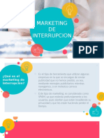 Marketing interrupcion
