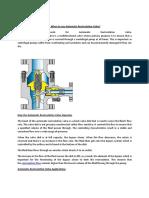 ARV or ARC valves
