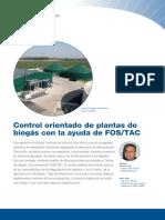 Control Orientado de Plantas de Biogas con ayuda de FOS&TAC