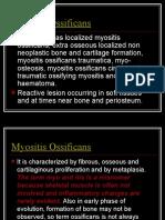 6.Myositis Ossificans