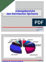 TU Chemnitz - Presentation - Anwendungsbereiche des Thermischen Spritzens