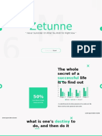 Zetunne - Powerpoint Template