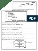 Devoir 2 Modele 8 Informatique Tronc Commun Semestre 1