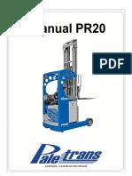 MANUAL DE USO E PEÇAS - PR20 -  A partir série 0931166.pdf