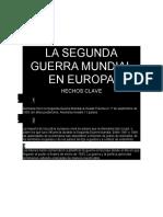 LA SEGUNDA GUERRA MUNDIAL EN EUROPA 3