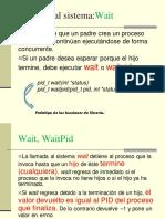 MINIRESUMEN uso de fork , wait y wexitstatus