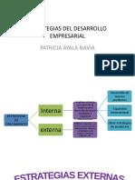 5. ESTRATEGIAS DEL DESARROLLO EMPRESARIAL EXTERNAS.pptx