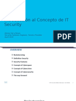 Intro to the Concept of IT Security