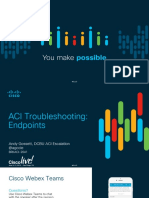 ACI Troubleshooting Endpoints - BRKACI-2641