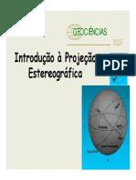 Aula-2-Projeções Estereográficas
