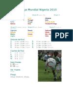 XIII Liga Mundial Nigeria 2010