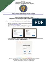 Instructiuni completare raport de garda online UPU CPU