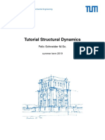 Tutorial notes for Structural Dynamics - first part