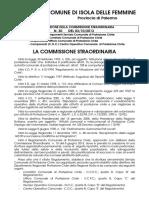 2013 3 OTTOBRE ISOLA DELLE FEMMINE DETERMINA N 30    COORDINATORE DEL COMITATO COMUNALE DI PROTEZIONE CIVILE MAGGIORE CROCE ANTONIO COMANDANTE DEL CORPO DI POLIZIA MUNICIPALE