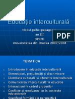 CURS  Educatie Interculturala