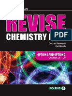 Revise Chemistry Live! Option Chapters
