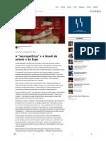 """A """"necropolítica"""" e o Brasil de ontem e de hoje – Justificando"""