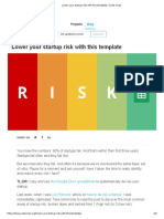 Lower your startup risk with this template _ Code Corps