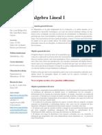 CD 01-ÁLGEBRA LINEAL I-LICMAT-120