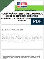 EL ACOMPAÑAMIENTO DESDE EL ENFOQUE HISTÓRICO CULTURAL Y EL APROVECHAMIENTO DEL TIEMPO EN JEE.ppt