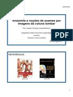 06 - Anatomia e noções de exames por imagens da coluna lombar-1