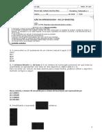 AV1 1 BIMESTRE - 8 ANO - MATEMÁTICA 1