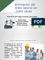 219993784-4-Terminacion-Del-Contrato-Laboral-Sin-Justa-Causa.pptx