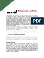 "Blog ""Solución de conflictos"""