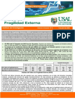 Indice Fragilidad Economica USAL