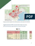 La percentuale di contagiati in Veneto, per Comune