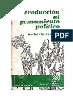 1 Cerroni, U. 1969. Introducción al pensamiento político