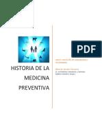 Antecedentes medicina preventiva