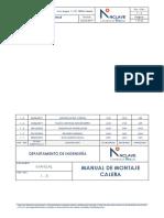 Manual de montaje Calera v1.5